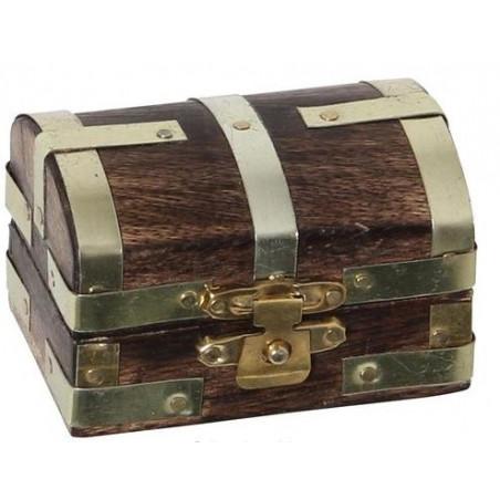 Mini coffre au trésor 6 x 4 x 4 cm