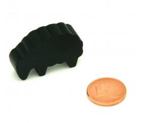 Pion mouton noir petit modèle en bois pour jeu de société