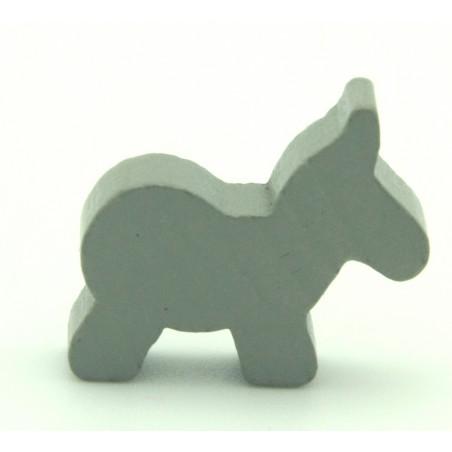 Pion âne gris