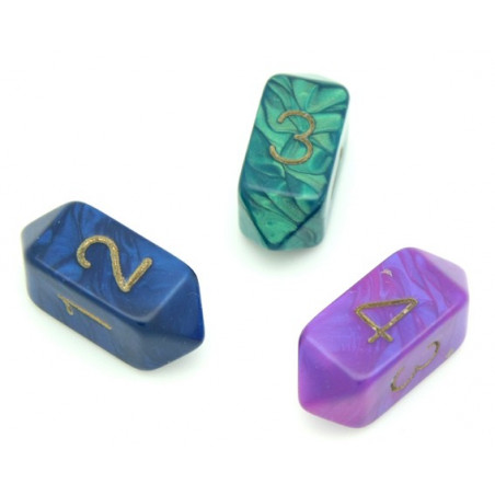 Dé 4 faces baril  - barrel dice