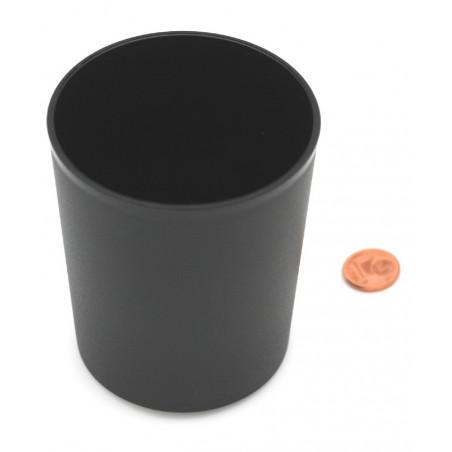 Gobelet plastique noir pour lancer de dés