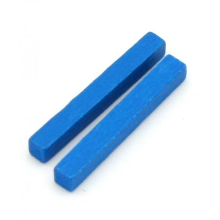 Baguettes 5x5x39 mm pions buchettes en bois pour jeu