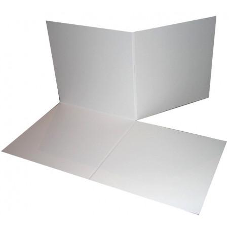 Plateau de jeux carré grand format pliable 510 x 510 mm