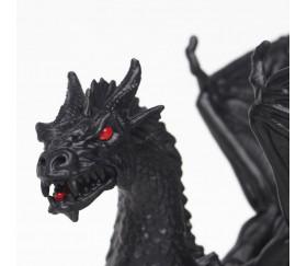 Figurine dragon noir twilight 16 x 13.1 x 9.2 cm