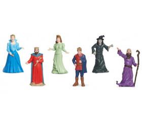 Personnages de conte : 6 figurines de jeu très réalistes
