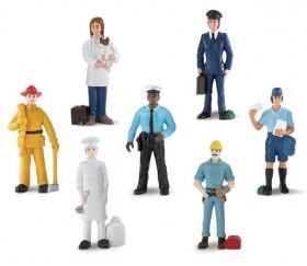 Métiers : 7 figurines de jeu très réalistes