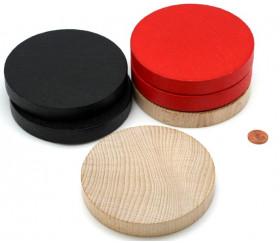 Palet géant de 10 cm en bois teinté  : 100 x 15 mm : 100 x 15 mm