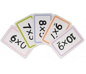 Carte à toto Multiplication apprendre en s'amusant 110 cartes