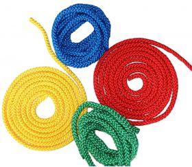 Corde colorée de 2m50 à l'unité