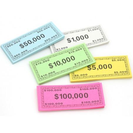 200 billets de jeux dollars