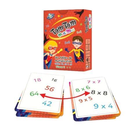 Tamtam Multimax jeux tables de Multiplication niveau 2