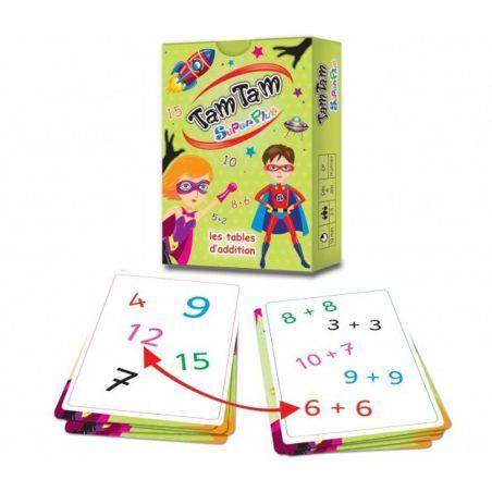 Tamtam Superplus jeu tables d'addition