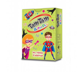 Tamtam Superplus jeu tables d'addition