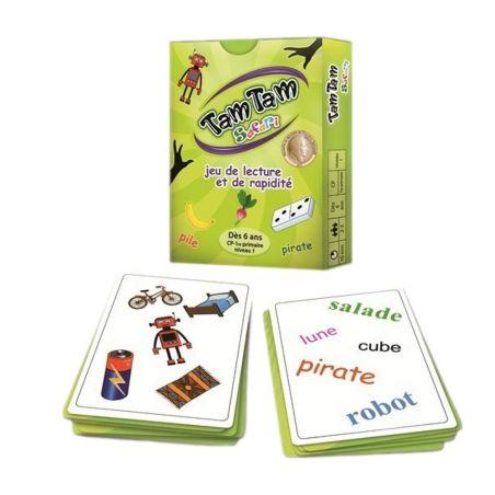 Tamtam Safari CP niveau 1 jeu de lecture