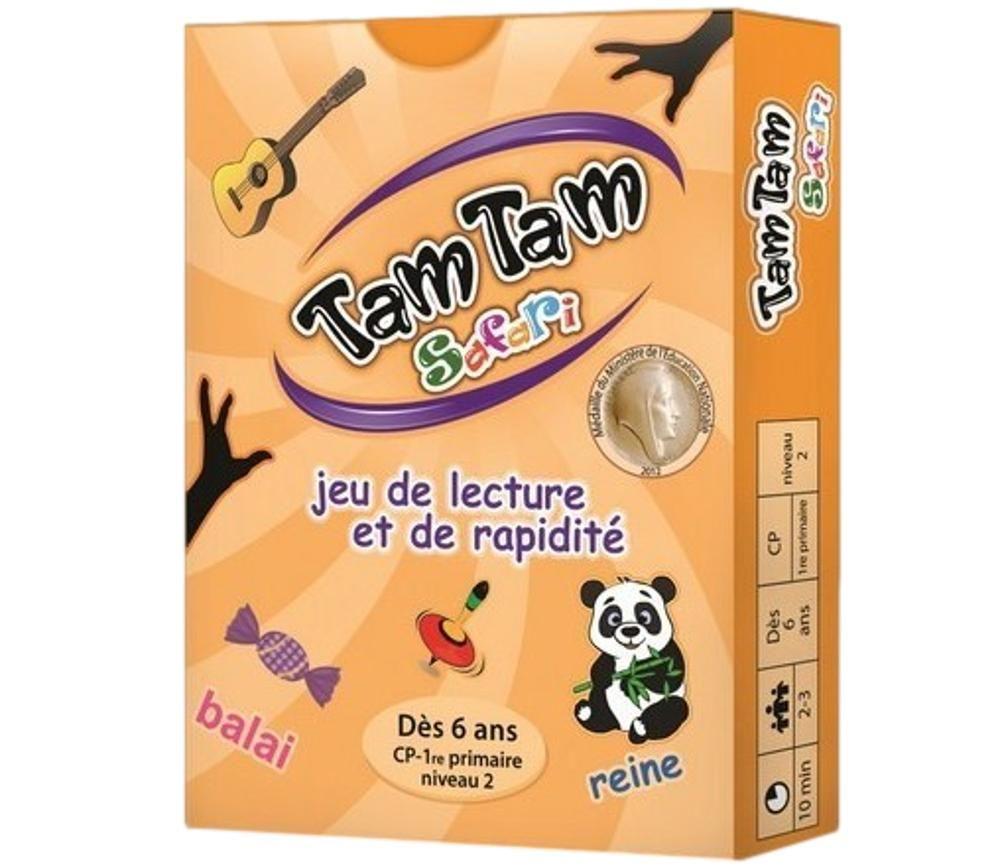 Tamtam Safari CP niveau 2 jeu de lecture