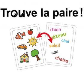 Tamtam Français les premiers mots jeu de lecture