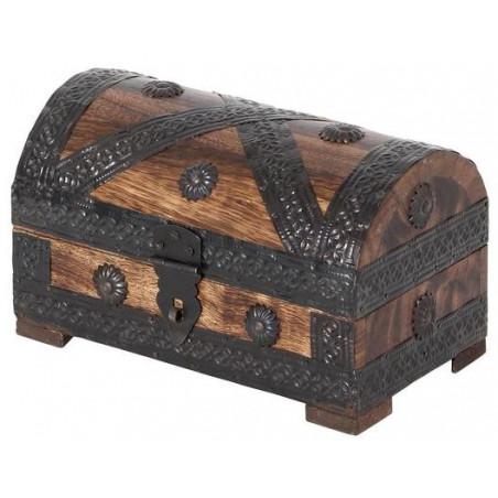 Coffre au trésor 20 x 11.5 x 11.5 cm