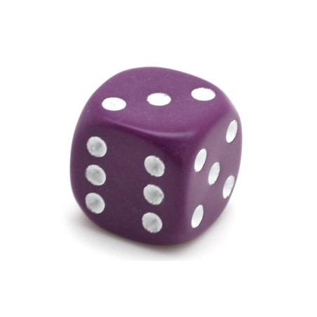 Dé violet 14 mm de 1 à 6 pour jeu de société