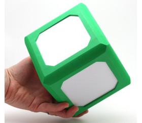 Dé faces effaçables 12 x 12 cm et magnétiques