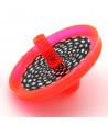 Toupie plastique effet optique pas cher 4 cm