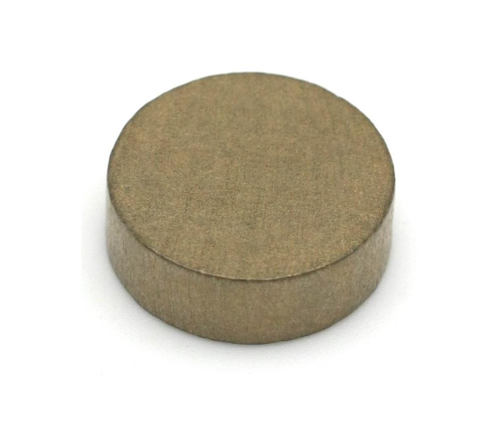 Pion palet doré  2.1 cm en bois pour jeu 21 x 7 mm