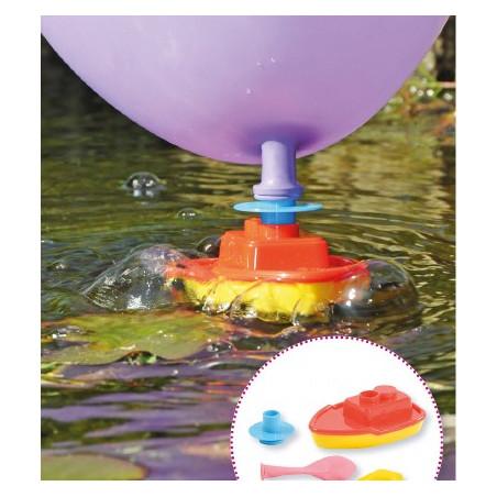 Mini bateau ballon à propulsion