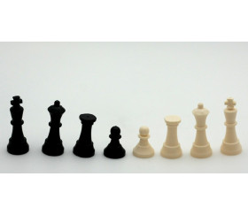 Mini Pièces d'échecs jeu en plastique