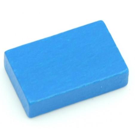 Jeton en bois petit rectangle pour jeux 26 x 16 x 7 mm