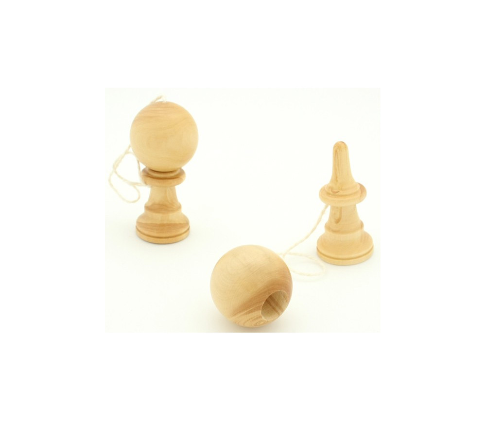 Bilboquet en bois petit modèle