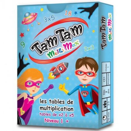 Tamtam Multimax 1 jeux tables de Multiplication niveau 1