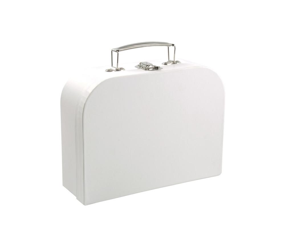 Valisette carton neutre à personnaliser 24,5 x 18,5 x 8,5 cm