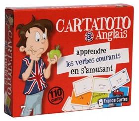 Cartatoto Anglais n°3 Les verbes apprendre en s'amusant 110 cartes