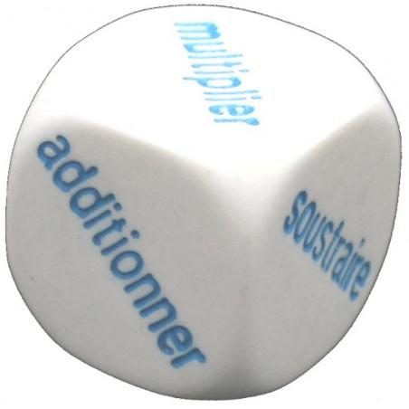 Dé additionner / soustraire /  multiplier / diviser en 20 mm
