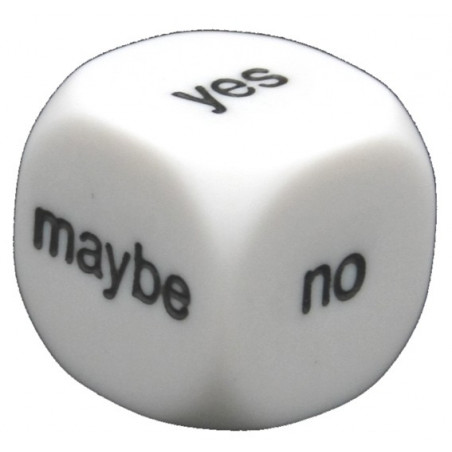 Dé destin : yes no maybe