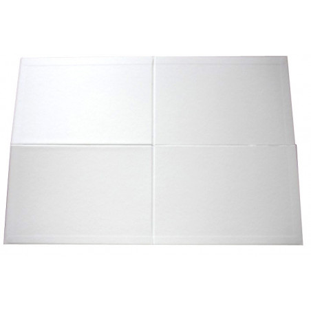 Plateau de jeux grand format pliable rectangle 640 x 500 mm