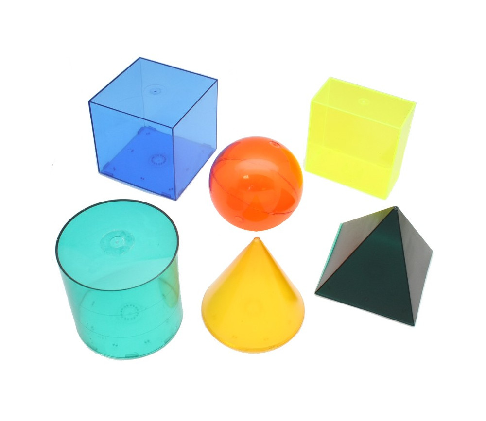 Formes géométriques en volume