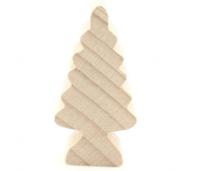 Pion sapin naturel en bois 43x21x10 mm