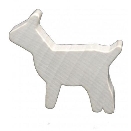 Pion chèvre blanche