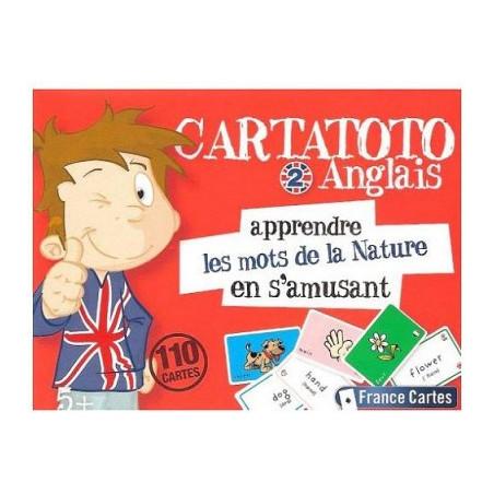 Cartatoto Anglais 2 Nature apprendre en s'amusant 110 cartes