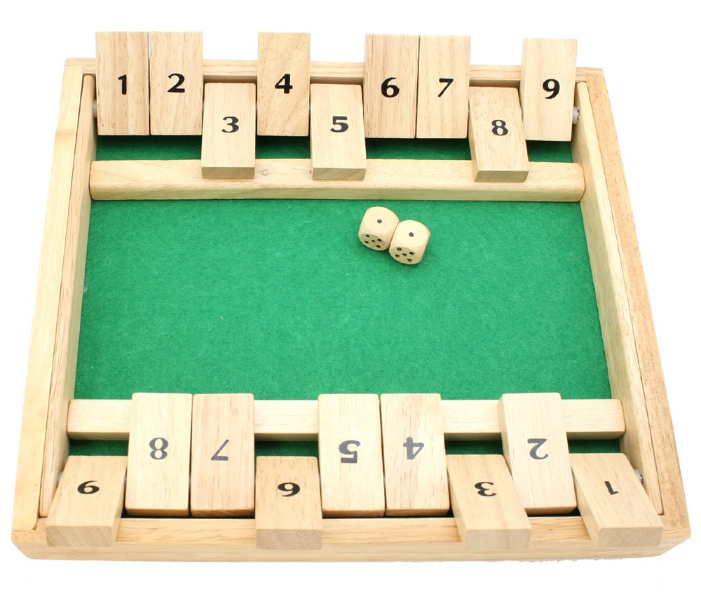 Fermez la boite 2 joueurs 27 x 24 x 3.5 cm