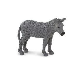 Mini mini figurine âne gris