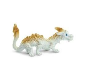 Figurine mini mini dragon CHANCE beige