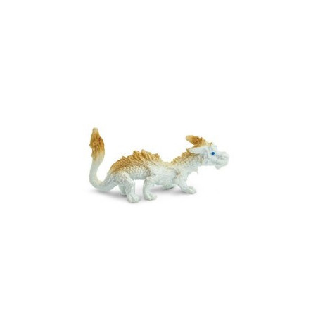 Figurine mini mini dragon CHANCE beige