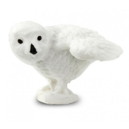 Mini mini figurine Harfang des neiges - hibou
