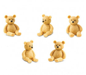 Figurine mini mini ours en peluche
