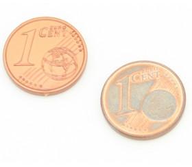 50 Pièces euros en plastique monnaie très réaliste