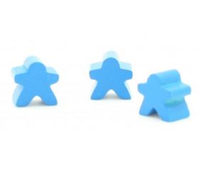 Mini meeple 12 x 12 X 8 mm personnage à l'unité
