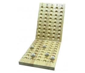 Plateau contrôle pour tirage loto boules de 1 à 90