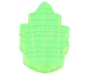Jeton feuille verte - épi 12 x 12 x 4 mm