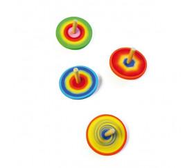 Toupie Multicolore 6 cm de diamètre